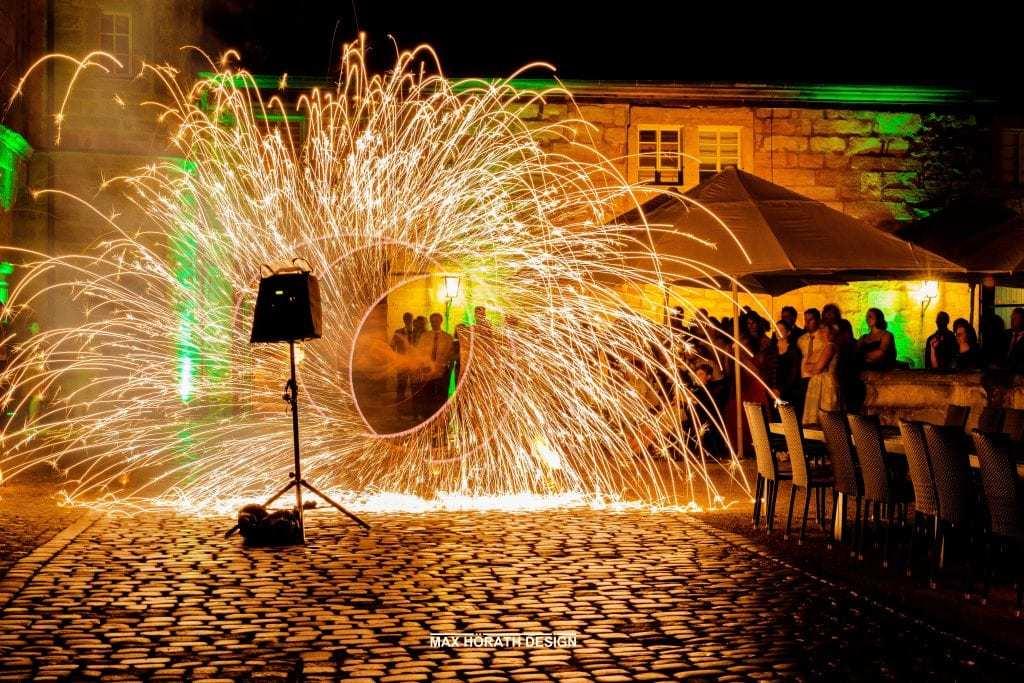 Silke Achim Trauung Feuershow 4 1